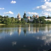 A moszkvai Novogyevicsi kolostor