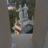 Moszkva felett 13. - A VDNH két zárt pavilonja és az egyik teteje