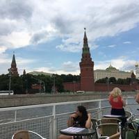 Hajókázás a Moszkva folyón
