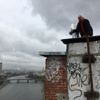 Moszkva felett 6.- Forgatás egy 16 emeletes lakóház tetején