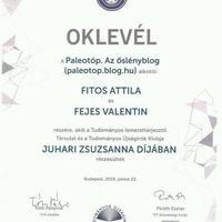 Megnyertük életünk első szakmai díját!