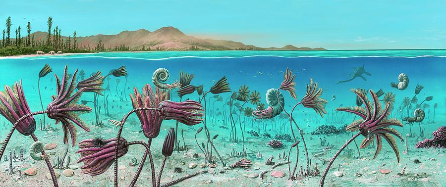 triassic-land-and-marine-life-richard-bizley.jpg