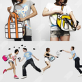 A humor nagyágyúi - képregény táskák