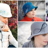 Különleges kalapok hordozzák személyes üzeneteinket!