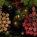 Gyönyörű csipkedíszek karácsonyra a Cruciani-tól!