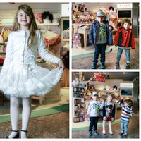 Luxus divat gyerekeknek a reptéren!
