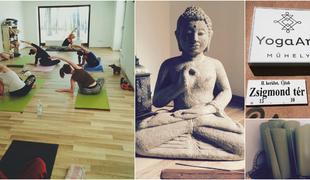 Szuper jógaközpont Budán!