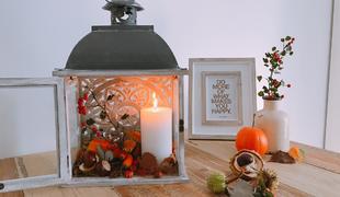 Őszi asztali dekor percek alatt!