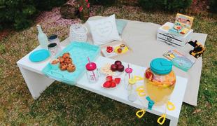Piknik otthon a kertünkben:)