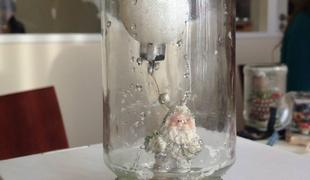 Így készül a hógömb házilag - Karácsonyi workshop