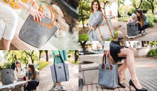 Filcből designer táska!