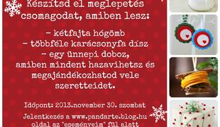 Karácsonyi Workshop!