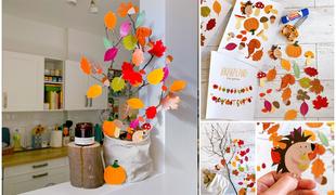 Őszi dekoráció - Letölthető sablonnal!