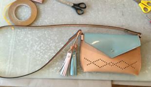 Így készítettünk designer táskákat!