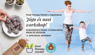 Jóga és egészséges nasi workshop gyerekeknek és anyukáknak!