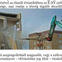 Uniós pénzből bontana paneleket az MDF