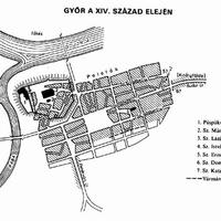 Erődből gyárváros - Győr városföldrajza az 1970-es évekig
