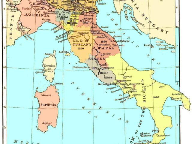 Olaszorszag Terkep A Nagyobb Varosokban Reszletes Terkep