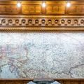 """Egy """"Nagy-Magyarország""""-térkép a Lendvay utcában"""