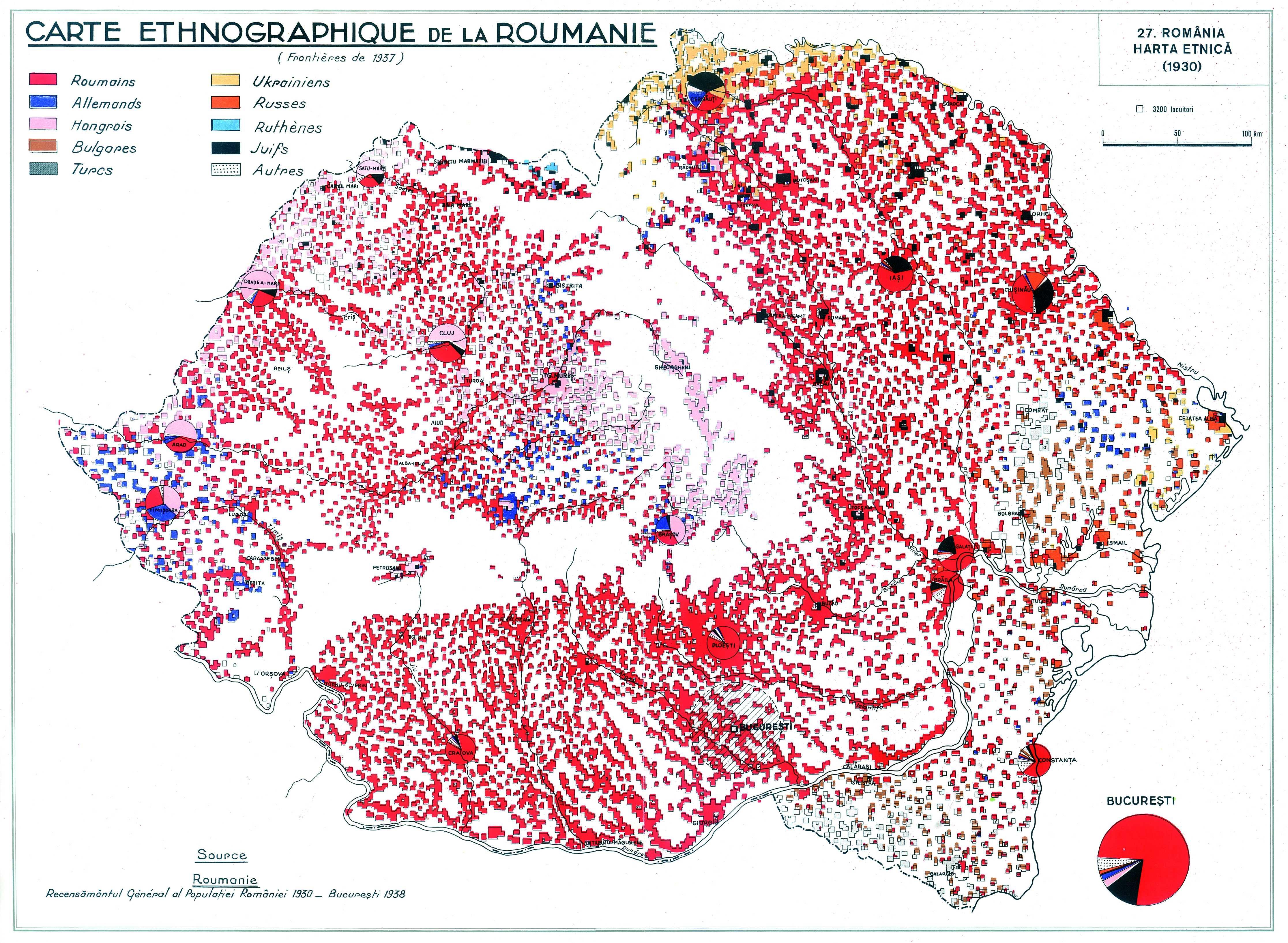 Romania Reflected In Ethnic Maps Pangea