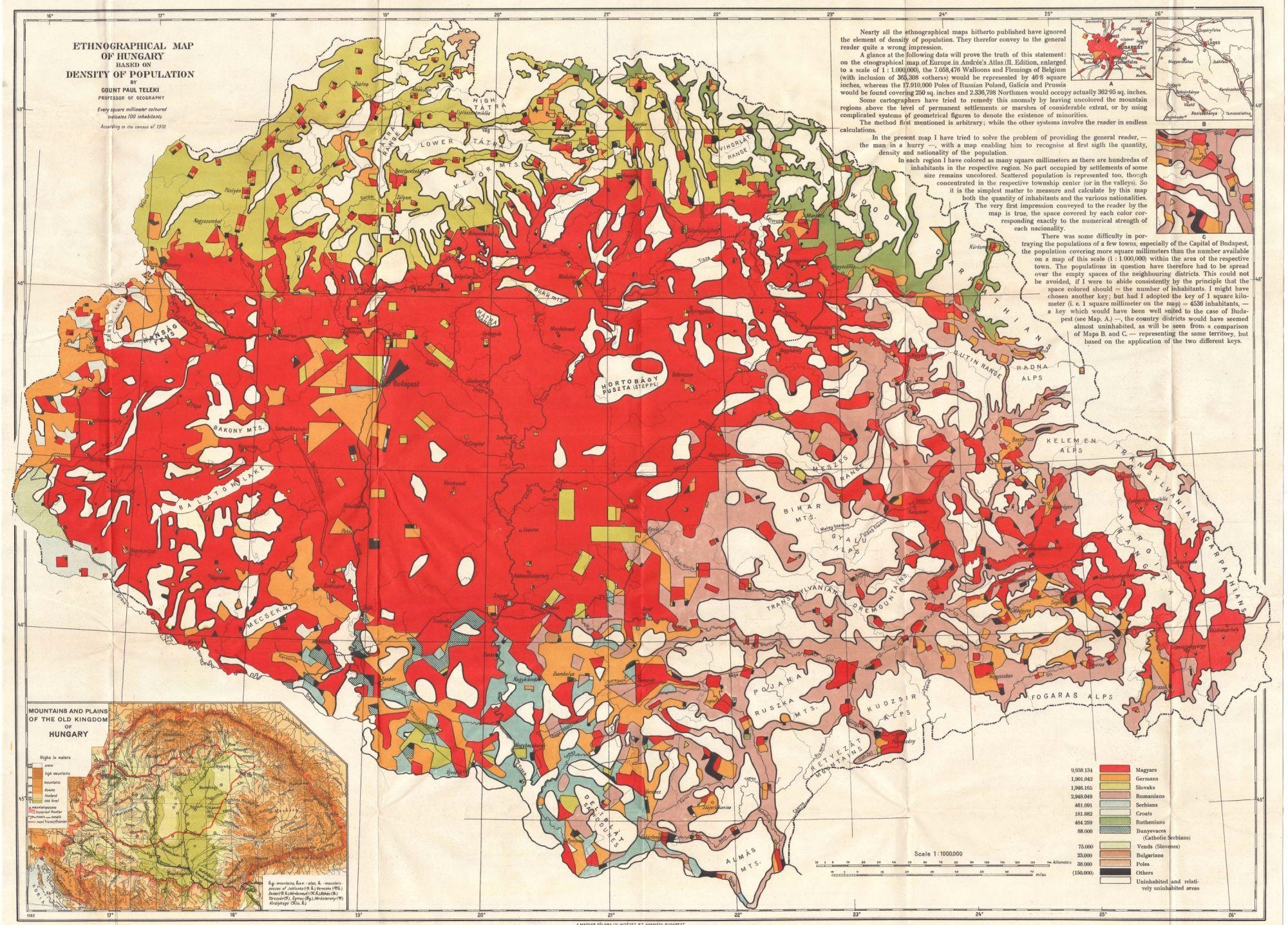 vörös térkép 100 éves a