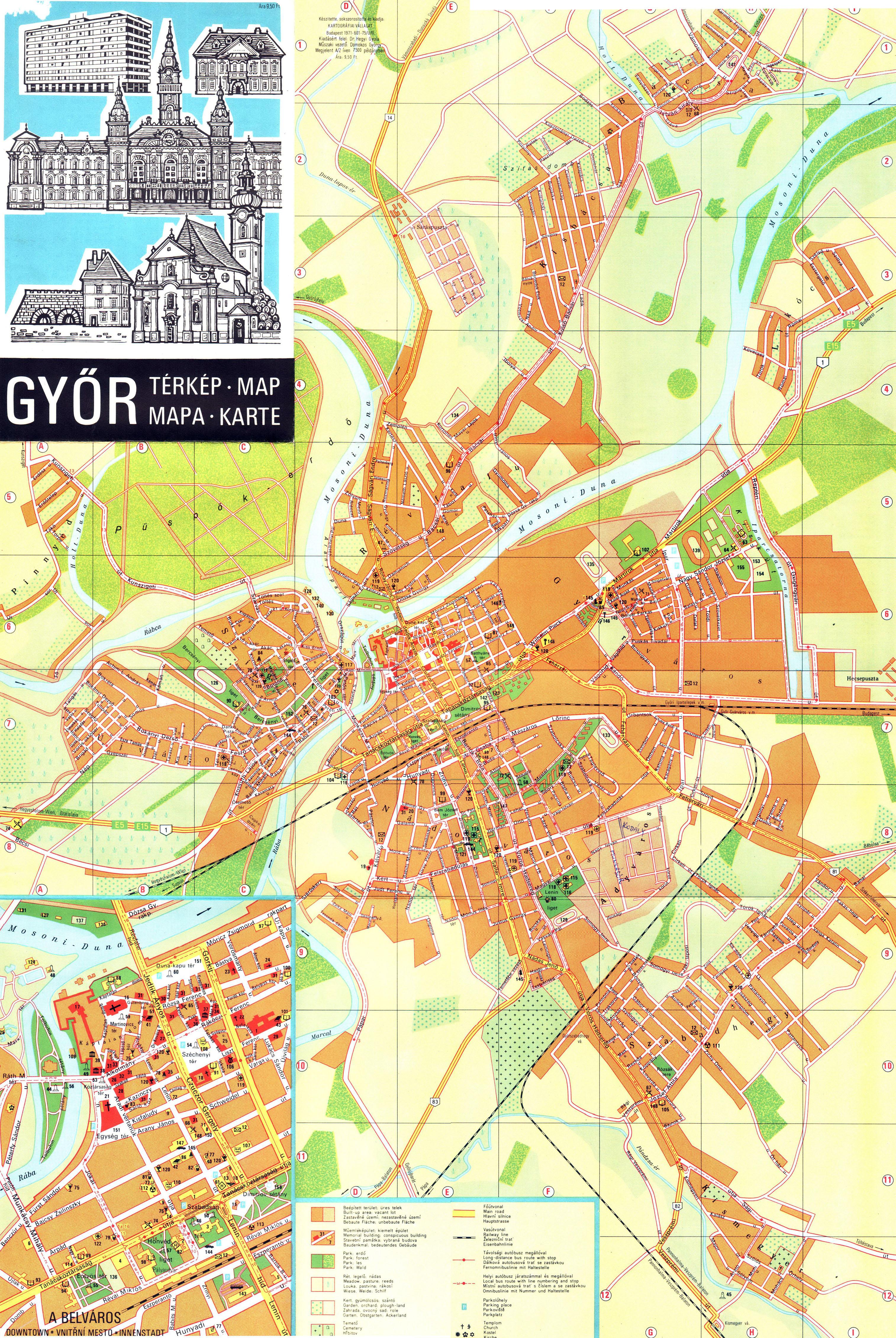 győr vasútállomás térkép A győri hidak problémája   Pangea győr vasútállomás térkép