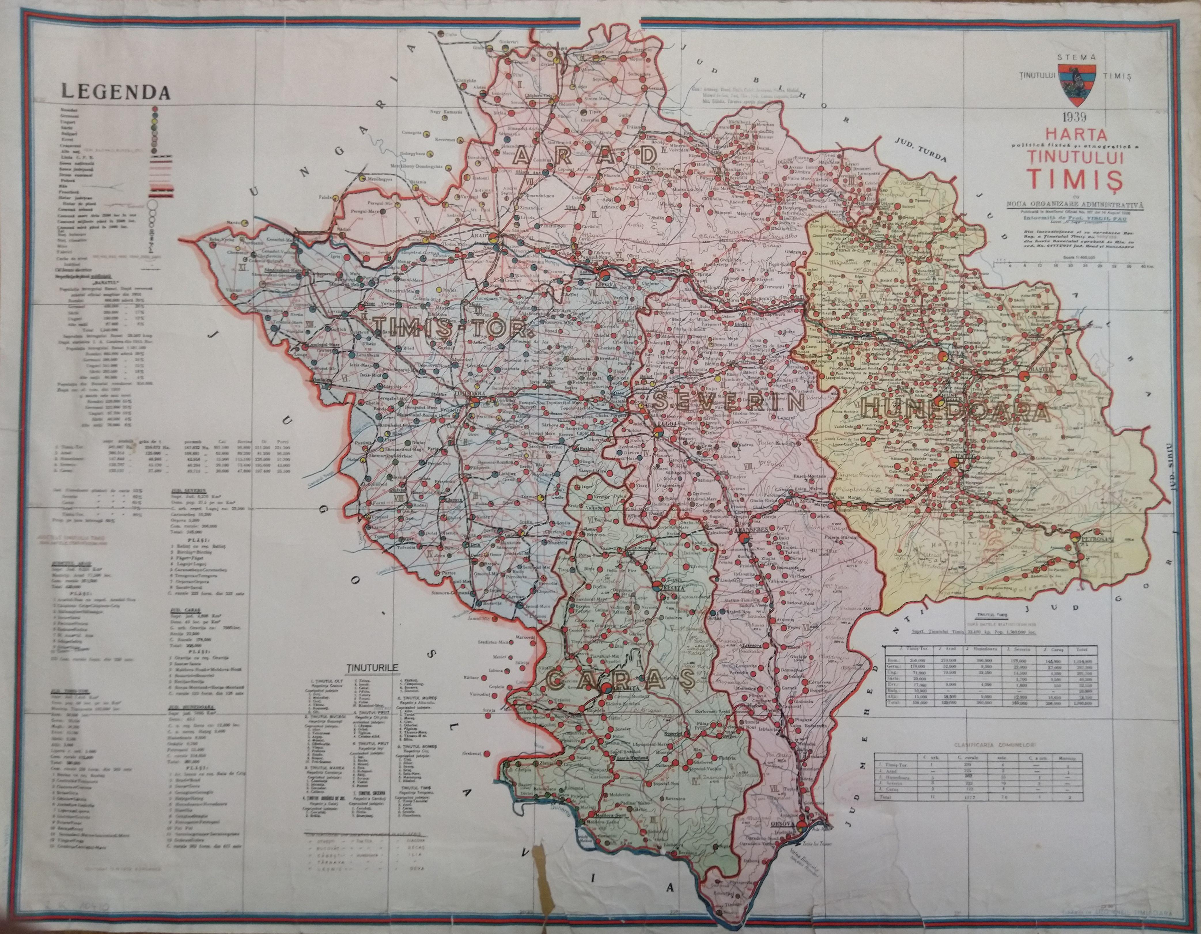 Romania Mare In Oglinda Hărților Etnografice Romanești Pangea