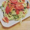 Kalóriacsökkentett olasz cukkinispagetti