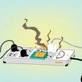 Ahogy ígértük: Íme, bővebben az elektromos tüzek oltásáról és megelőzéséről…