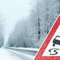Több millióba is kerülhet, ha nincs téli gumi az autón!