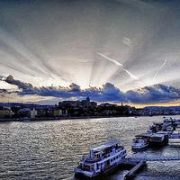 Monos Gábor - Budapest sunset