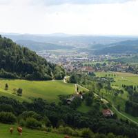 Panoráma Maria Lankowitzból (Ausztria)