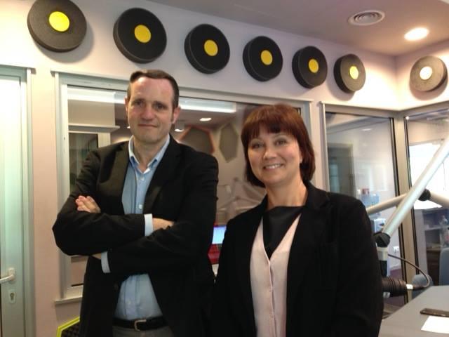 Pajor Tamás és Friderika a Hit Rádióban
