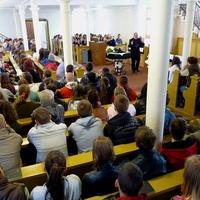 Áldozócsütörtöki programok a Pápai Refiben