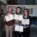 Művészeti triatlon: Két első díj és egy harmadik!!!