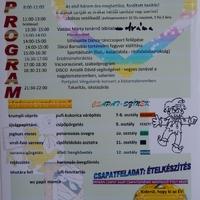 Diáknap programja