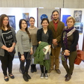 Refis diákok kiállítása Pestszentlőrincen