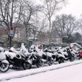 Téli motorozás