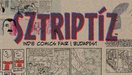 Sztriptíz Indie Comics Fair, április 8-9.