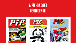 A Pif-Gadget képregényei