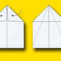 Deltaszárnyú papírrepülő