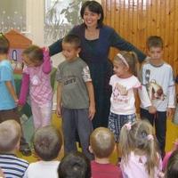 A Papírszínház az újbudai iskolában is nagy sikert aratott!