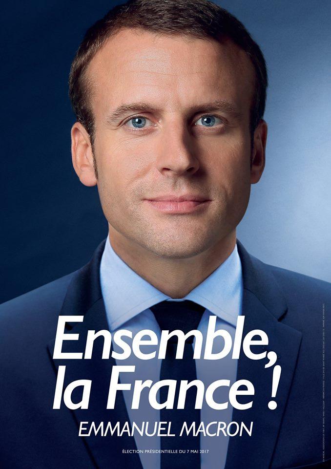 Franciaország: La République en Marche, LREM (Köztársaság lendületben) 'Együtt, Franciaország!'<br />