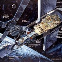 Skylab, a NASA első űrállomása