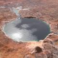 Kiderült, hogy a Jezero-kráter a Marson egykoron tó volt