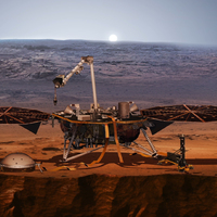 Hétfőn landol a Marson az InSight robotgeológus űrszonda