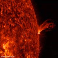Félelmetes napkitörést rögzítettek augusztusban