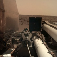 Enyhén lejtős területen landolt a Marson az Insight űrszonda