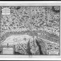 Párizs - történeti térképeken