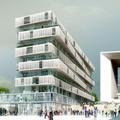 Lakóépület terve a Défense-be